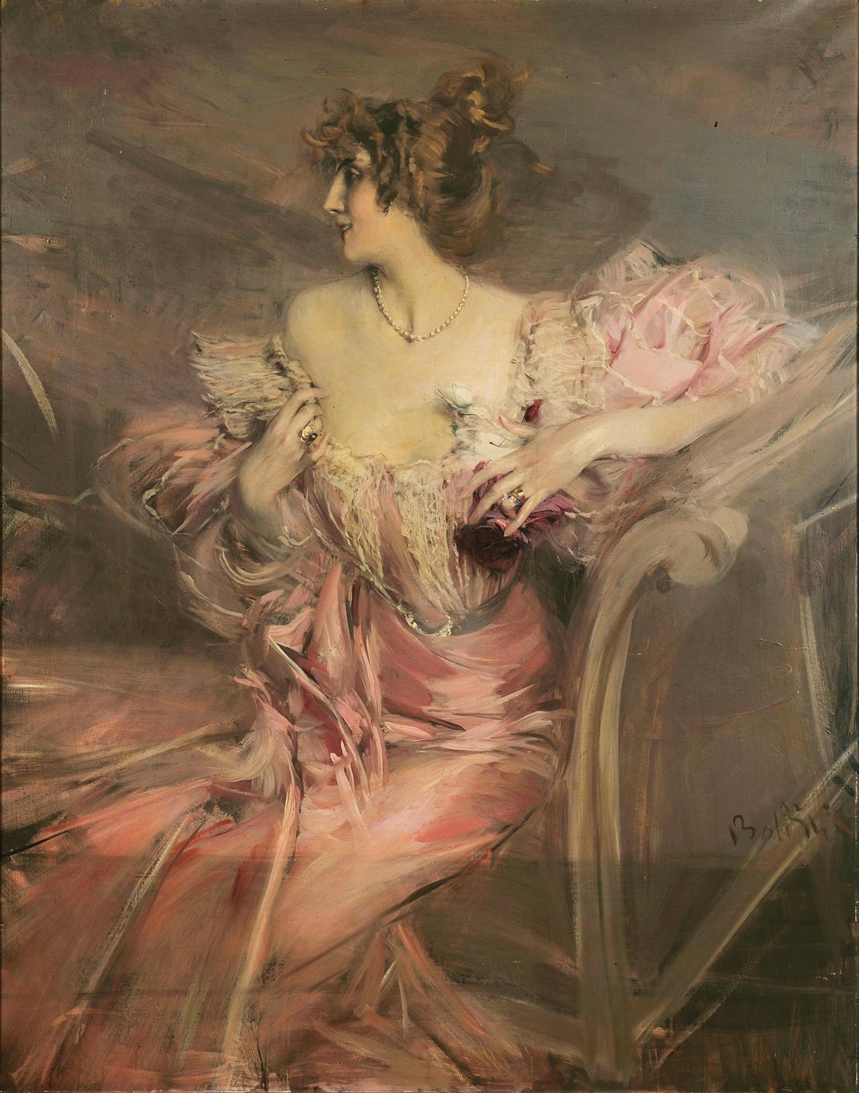 Boldini's Portrait of Mme. de Florian
