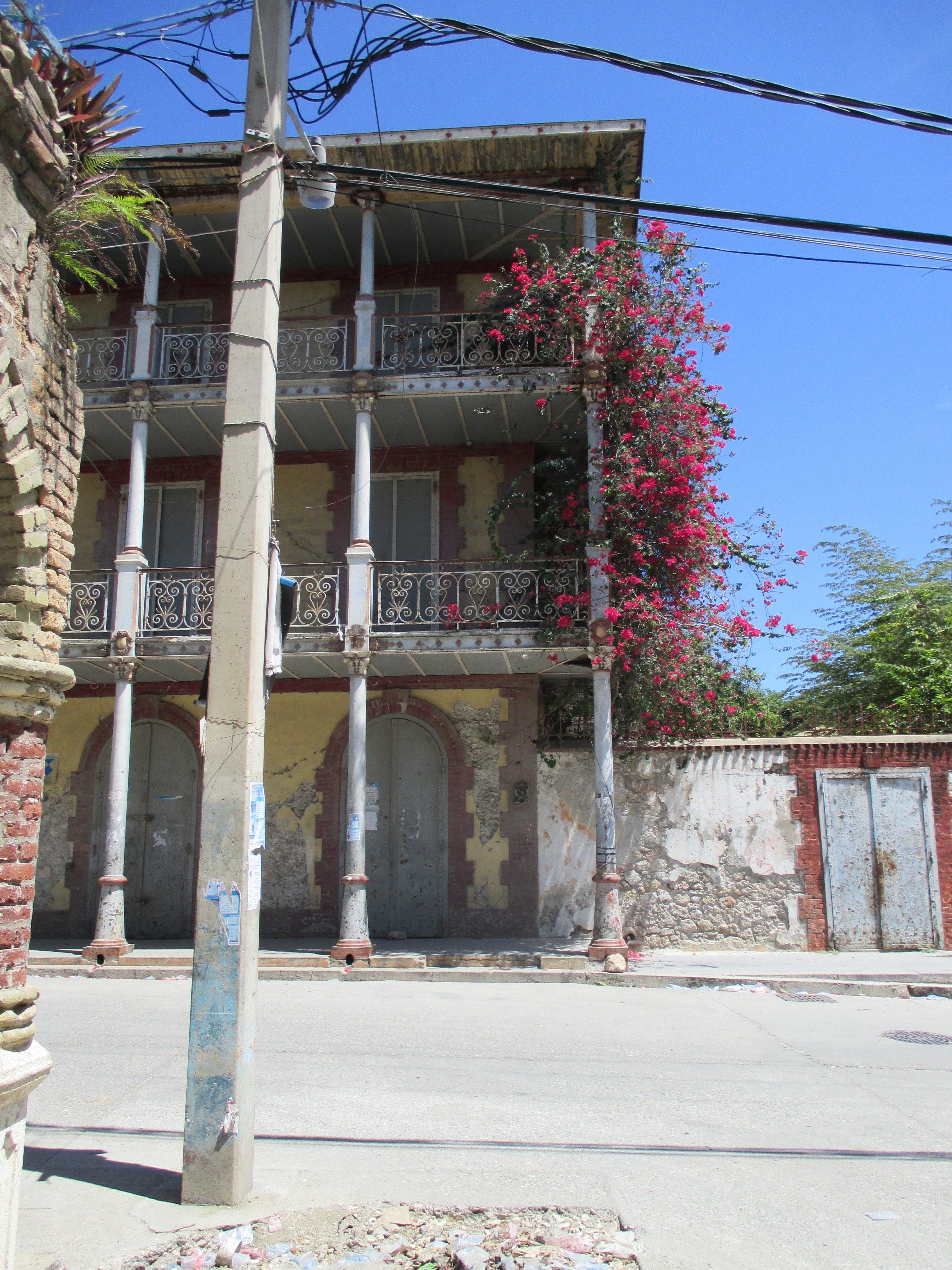 Historic Neglected Home In Jacmel