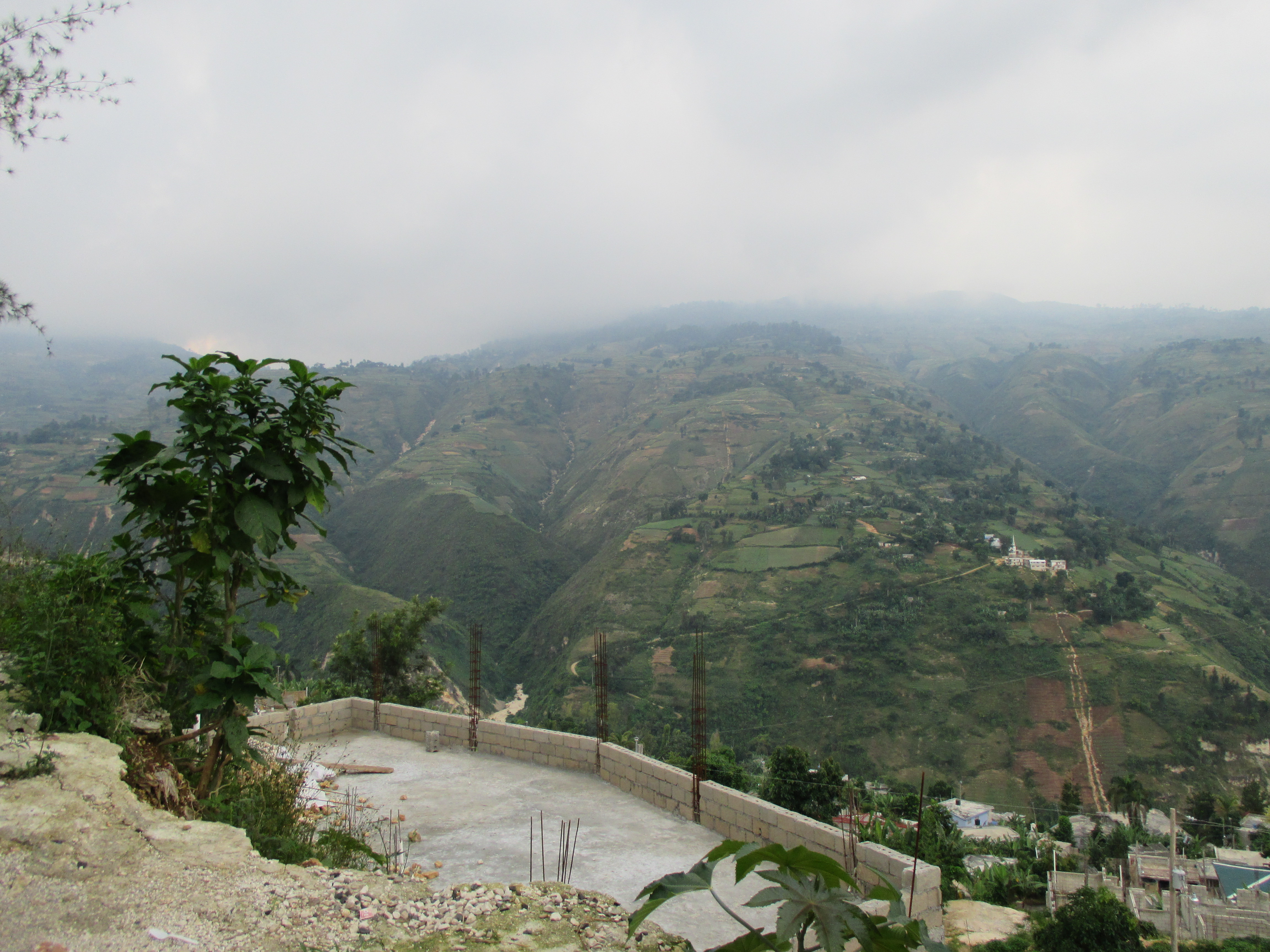 View From Kenscoff - An Upscale Suburb of Port au Prince
