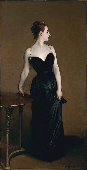 Portrait of Madame X by John Singer Sargent