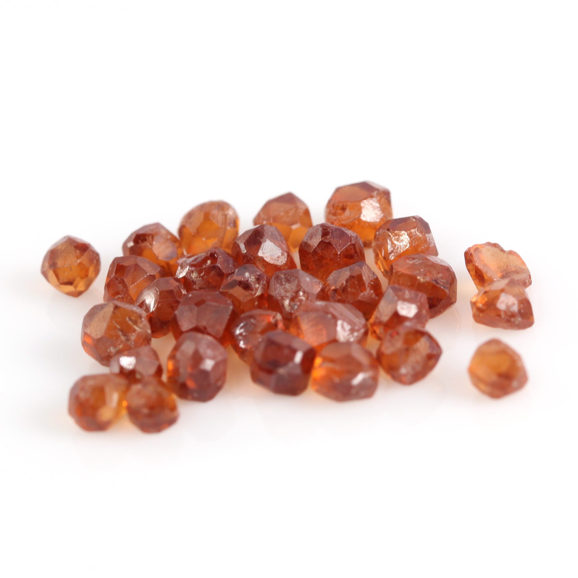 Raw Spessartite Garnet Crystals