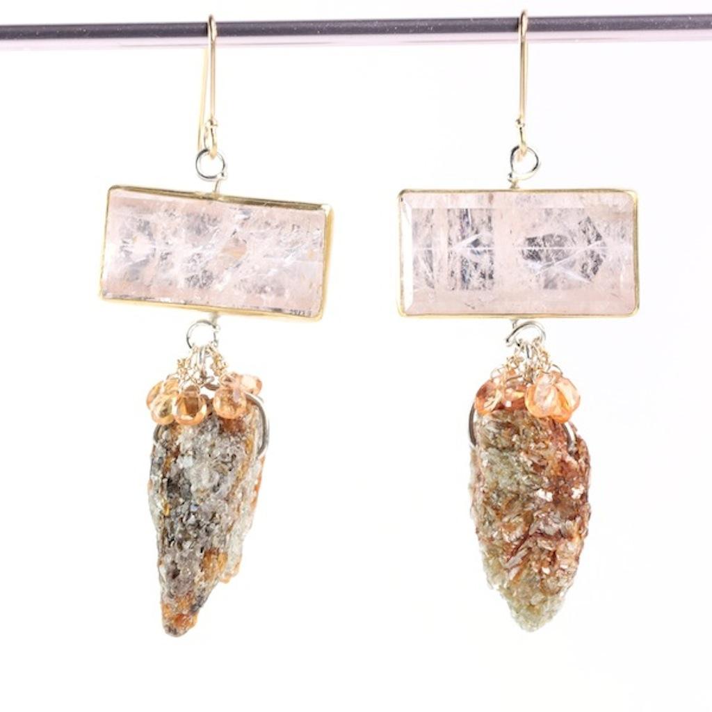 Morganite_Orange_Kyanite_Sapphire_Earrings 2017
